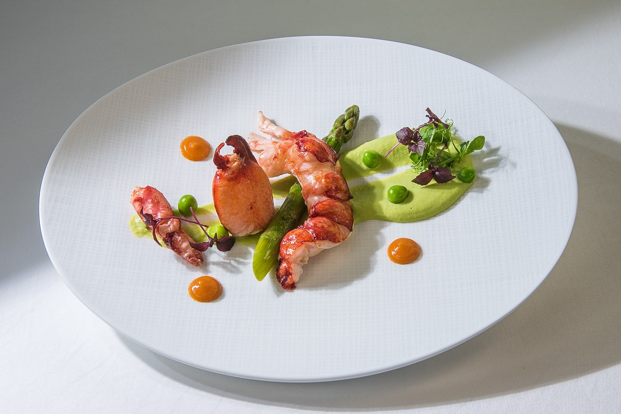 Plat du menu du restaurant de l'hôtel - Les Trois Rochers