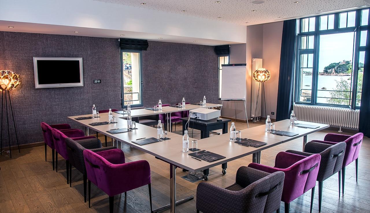 Salle de réunion dans l'hôtel Castel Beau Site