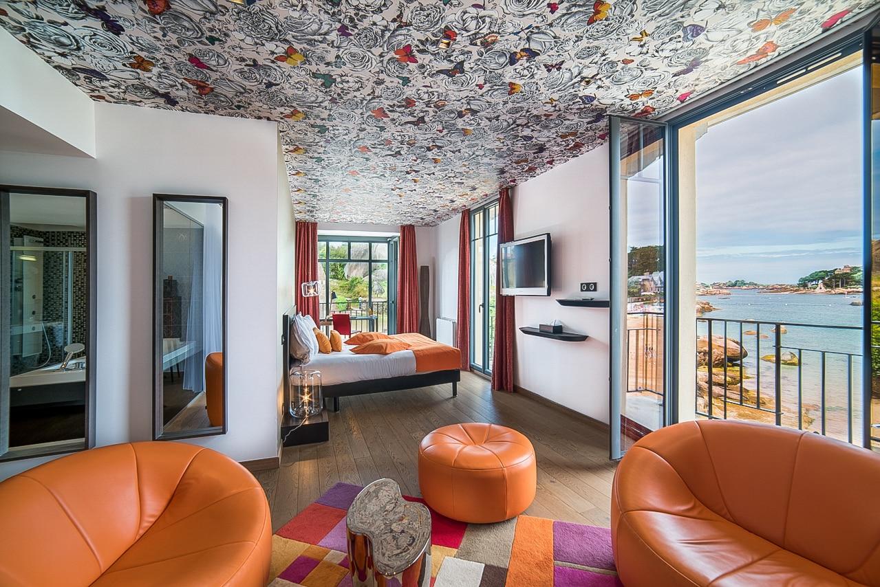 Magnifique chambre avec superbe vue sur la mer
