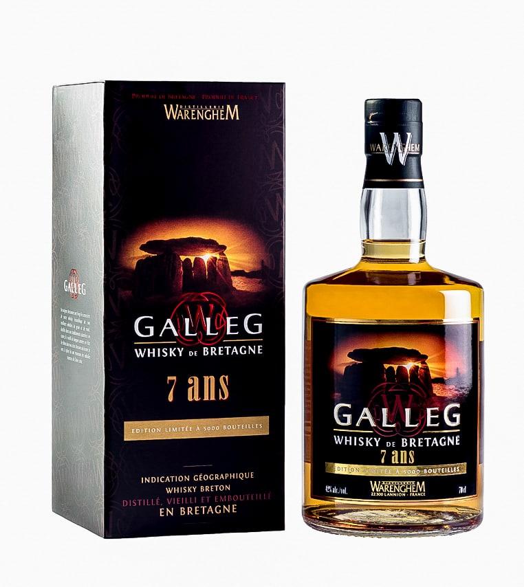 Galleg le whisky breton de 7 ans d'âge