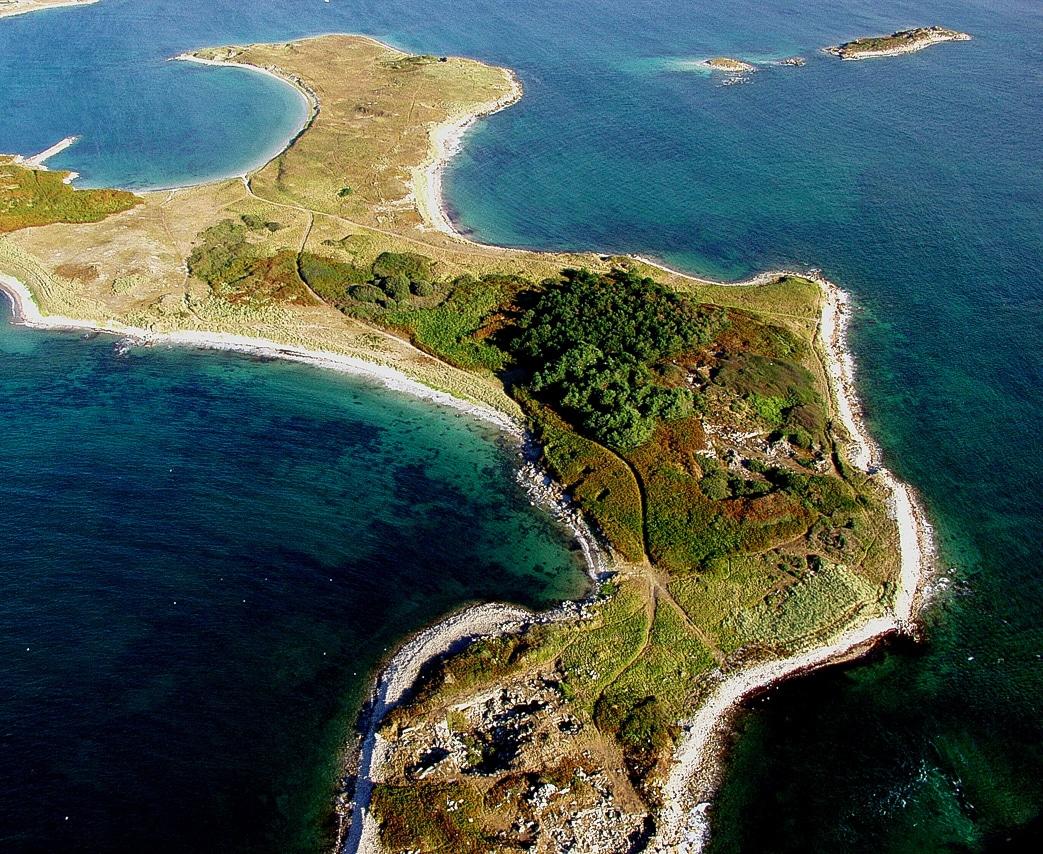 Vue aérienne - vue sur presqu'ile