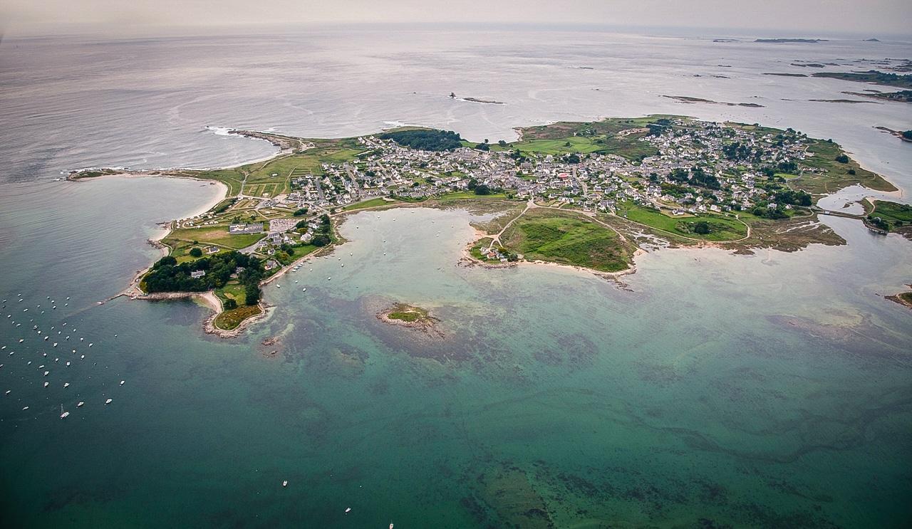 Belle vue sur l'île Grande