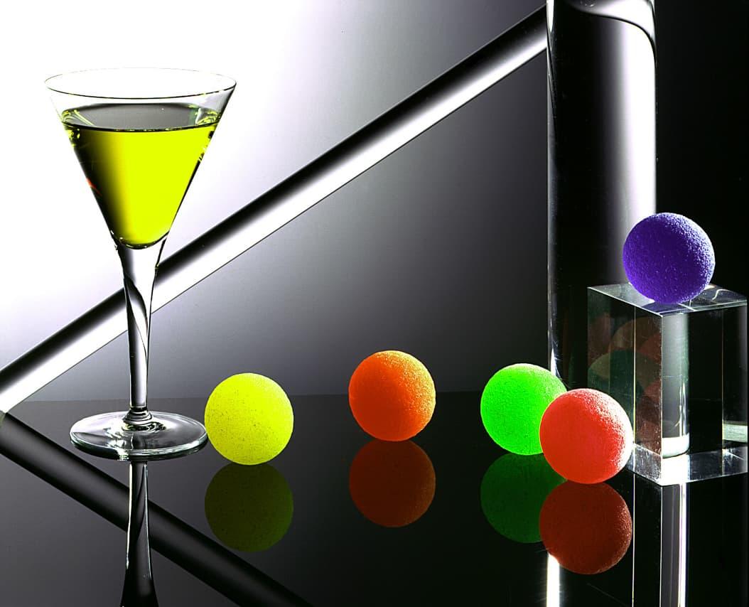 Cocktail dans un verre à Martini