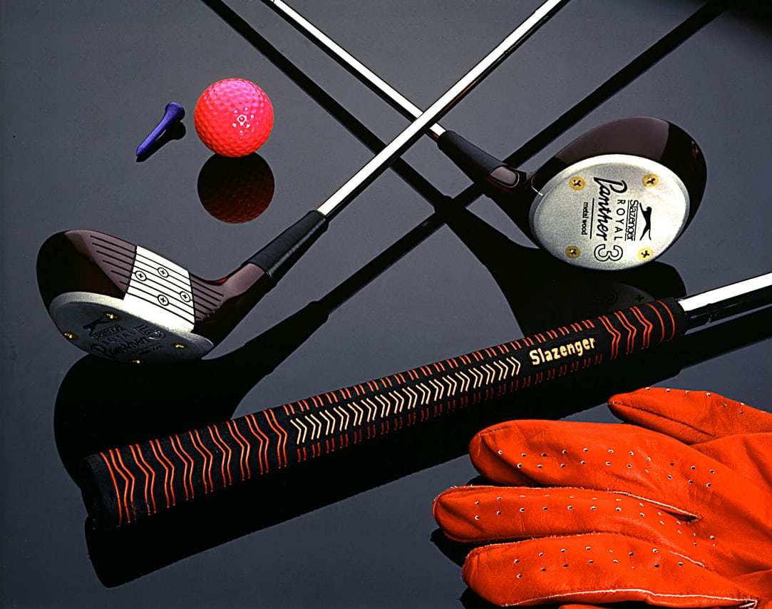 Kit de golf Slazenger avec clubs et gants